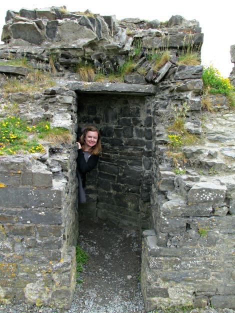 Jaime in Aberystwyth Castle I jaimeevans.wordpress.com