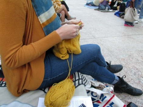 Knitin' in the Park I jaimeevans.wordpress.com