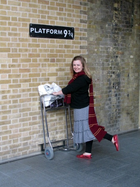 Platform 9 3/4 I jaimeevans.wordpress.com