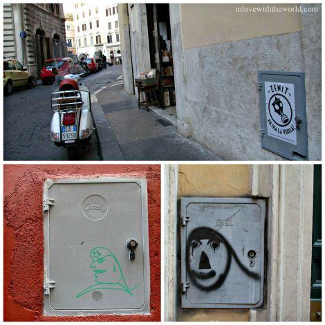 Street Art of Rome | inlovewiththeworld.com
