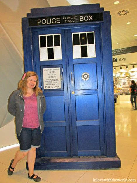 TARDIS @ The BBC | inlovewiththeworld.com