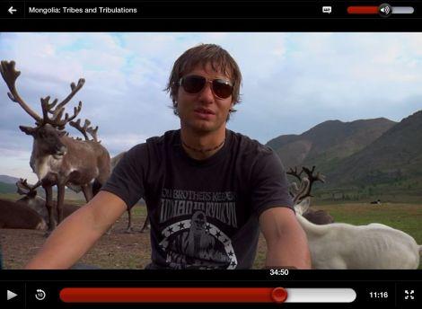 Departures Mongolia Reindeer | inlovewiththeworld.com