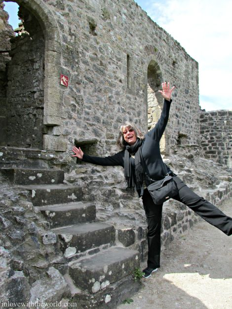 Don't Fall! @ Chepstow Castle | inlovewiththeworld.com