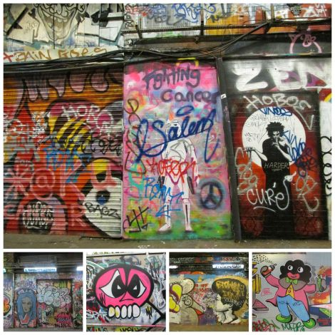 Bits of the Graffiti Tunnel | inlovewiththeworld.com