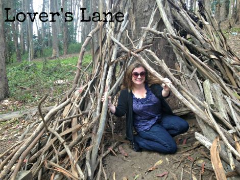 In a Fort @ Lovers Lane inlovewiththeworld.com