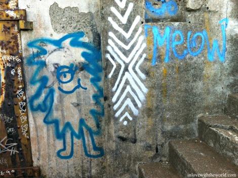 Meow Street Art | inlovewiththeworld.com