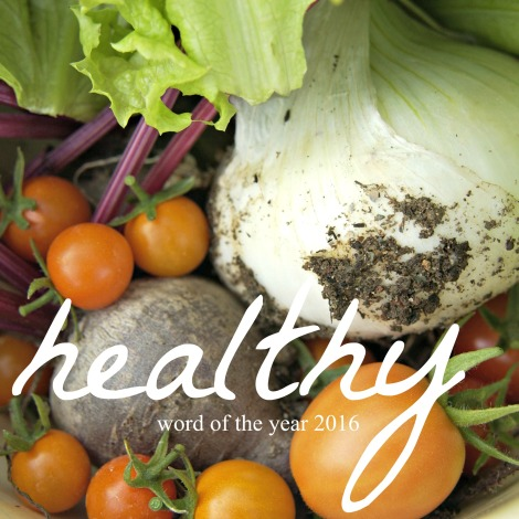 Healthy | Word of the Year 2016 | inlovewiththeworld.com