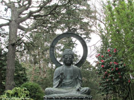 Japanese Tea Garden Buddha | inlovewiththeworld.com