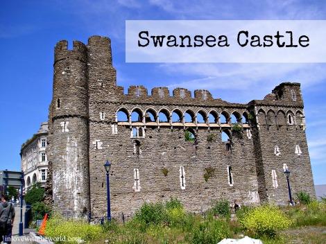 Swansea Castle | inlovewiththeworld.com