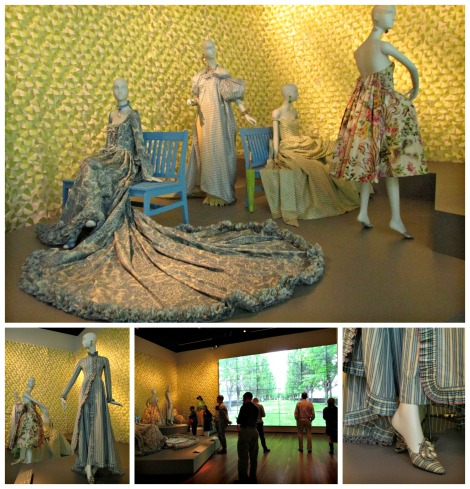 Oscar de la Renta Garden Clothes | De Young Museum | inlovewiththeworld.com