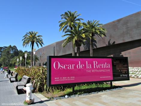 Oscar de la Renta @ The De Young | inlovewiththeworld.com
