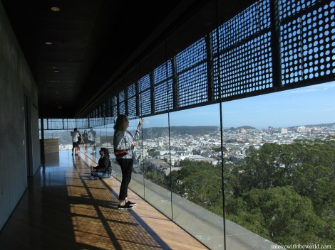 View from the De Young Museum | inlovewiththeworld.com