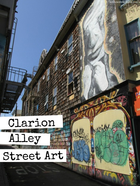 Clarion Alley Street Art | inlovewiththeworld.com