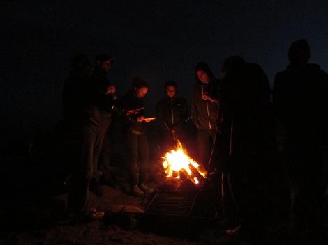 Muir Beach Bonfire | inlovewiththeworld.com