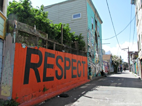 Respect Clarion Alley | inlovewiththeworlld.com